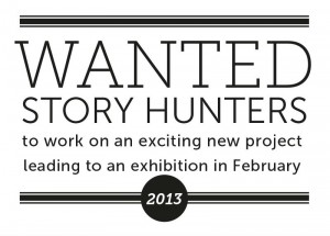 story hunters wanted