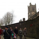 Walking around Lancaster Castle