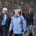 Sharing ideas by Lancaster Castle